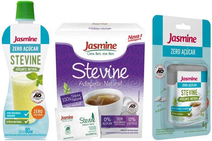 adoçante stevine