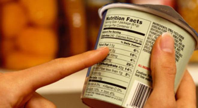 Países do Mercosul terão rótulo frontal de alerta em alimentos