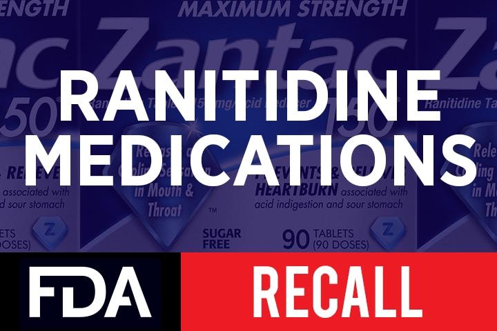 FDA Quer Todos os Produtos Ranitidina Fora do Mercado