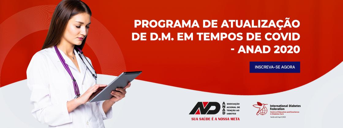 Programa de Atualização de D.M. em Tempos de Covid – ANAD 2020