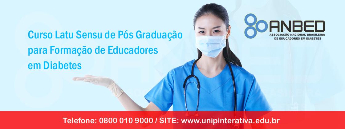 Curso Latu Sensu de Pós Graduação para Formação de Educadores em Diabetes