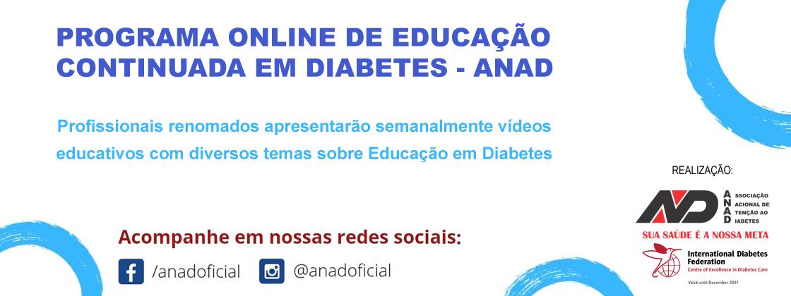 Programa Online de Educação Continuada - ANAD