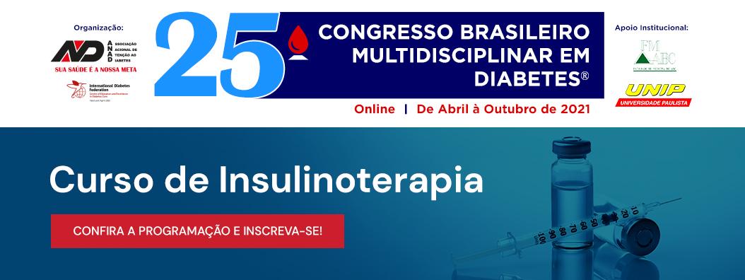 Programa Pré-Congresso Curso de Insulinoterapia