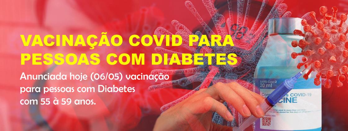 Vacinação COVID para Pessoas Portadora de Diabetes