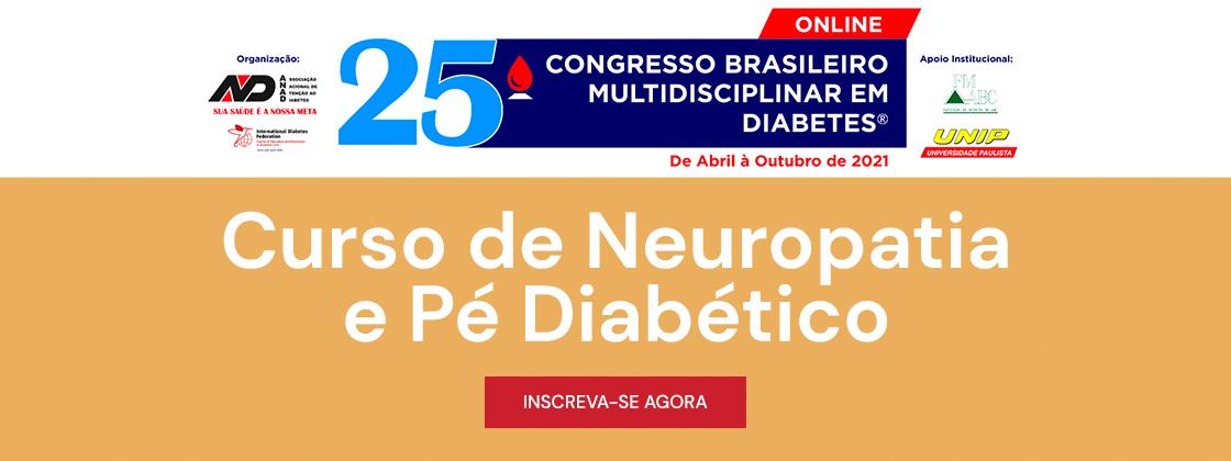 Curso de Neuropatia e Pé Diabético