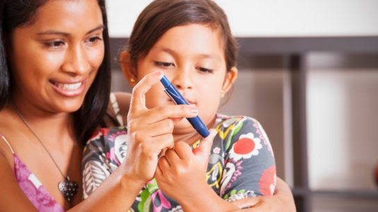 Diabetes Pediátrica Tipo 1 e 2 Aumentou Durante 2001-2017 nos EUA